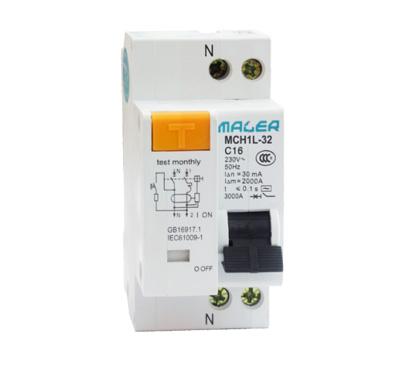 MCH1L-32(相线+中性线+漏电)保护断路器 MCH1L-32(相线+中性线+漏电)保护断路器